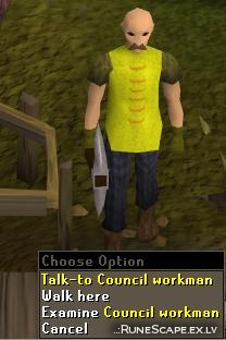 Council workman